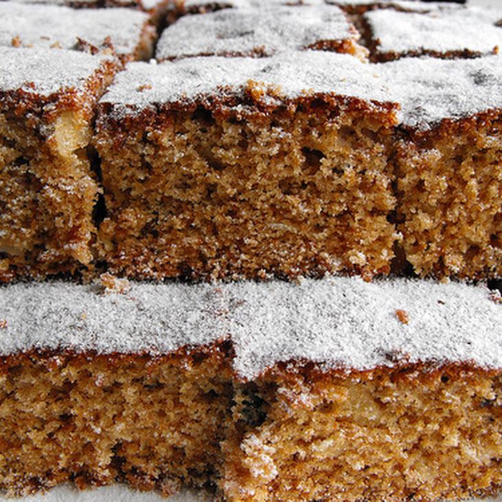 Honey and Assorted Nut Cake Recipe