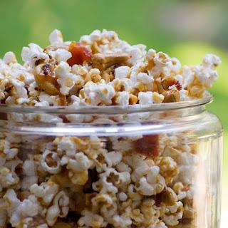 Bacon Cashew Caramel Popcorn