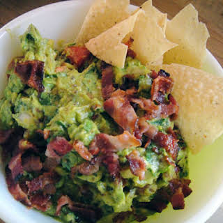 Rick Bayless's Bacon and Tomato Guacamole.
