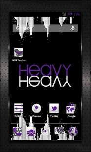 PURPLE HEAVY CM10 AOKP CM7+- screenshot thumbnail