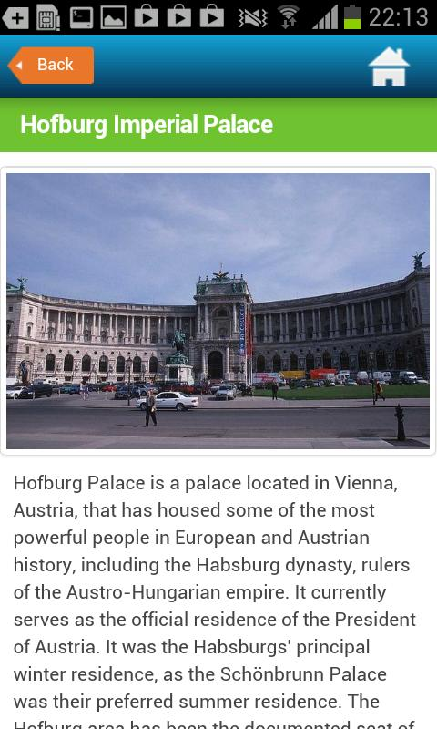 Vienna Guide Hotels Weather- screenshot