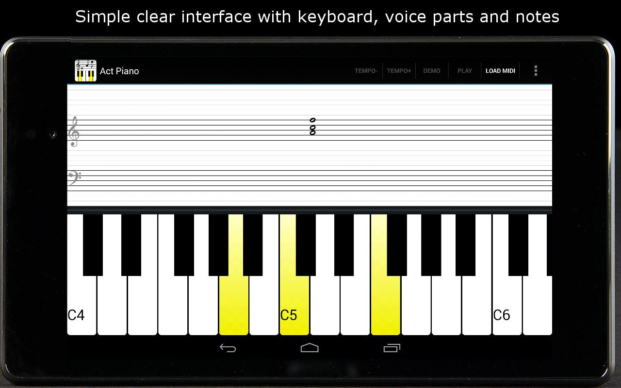 Act Piano - screenshot