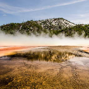 Spring by Sarthak Bisaria - Landscapes Waterscapes ( geyser, mountain, colorful, spring, steam,  )
