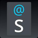 Holo Dark Blue Keyboard Skin icon