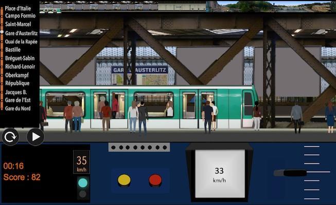 android Paris Métro Simulator Screenshot 5