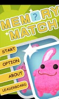 Screenshot of Memory Match Kids