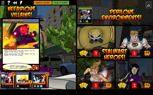 Sentinels of the Multiverse Games for Android screenshot