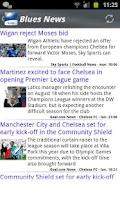Screenshot of Blues News