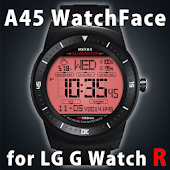 A45 WatchFace for LG G Watch R