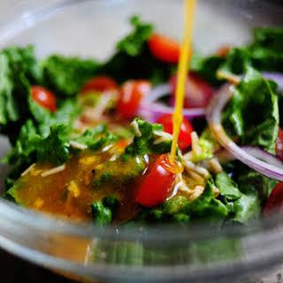 Aunt Trish's Salad Dressing.