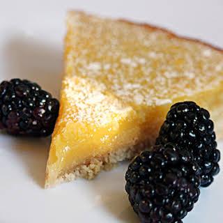 Kayla's Lemon Tart - Gluten Free.