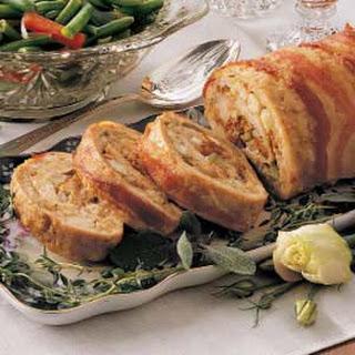 Stuffed Turkey Roll.