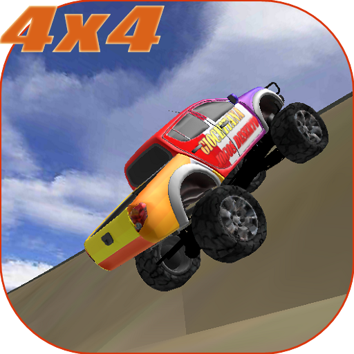 怪物卡車特技3D 賽車遊戲 App LOGO-硬是要APP