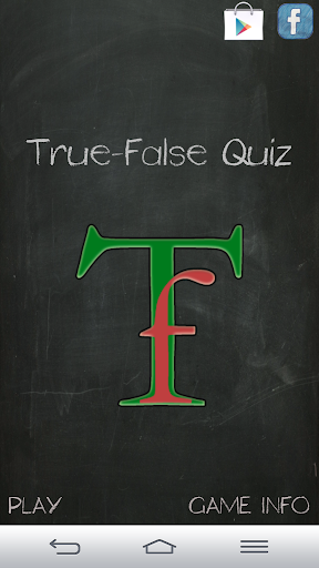 True-False Quiz