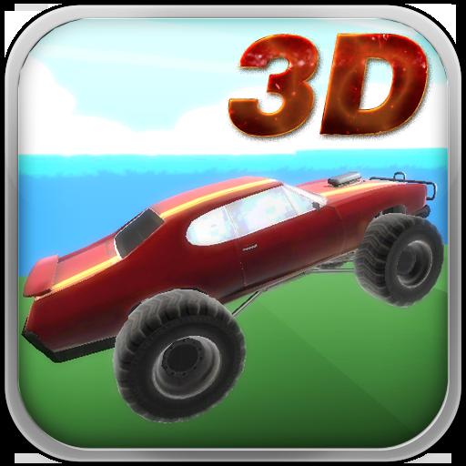 瘋狂的怪物賽車遊戲3D 模擬 App LOGO-APP開箱王