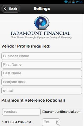 Paramount Financial - PMTQuote
