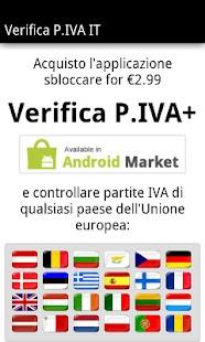 Verifica P.IVA IT - screenshot thumbnail