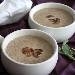 Brown Butter Mushroom Soup.