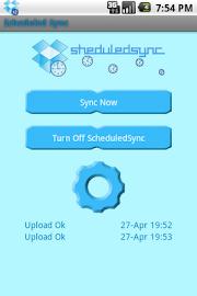 ScheduledSync Screenshot 1