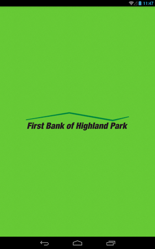 First Bank Highland Park - Tab