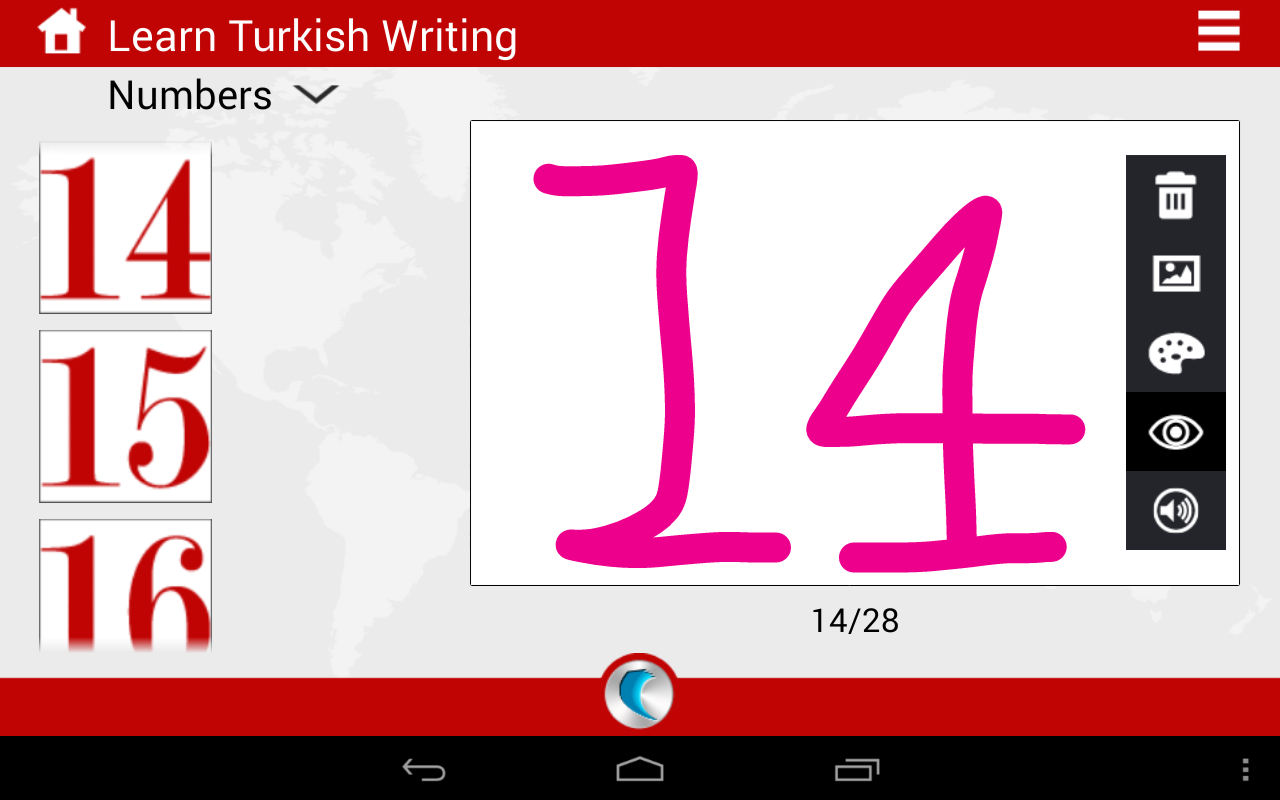 turkish writing