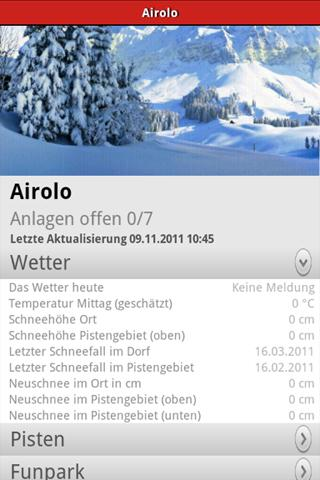 Swiss Snow - screenshot