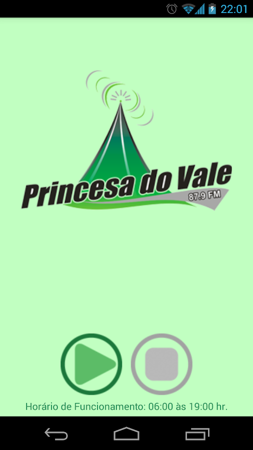 Rádio FM Princesa do Vale- screenshot