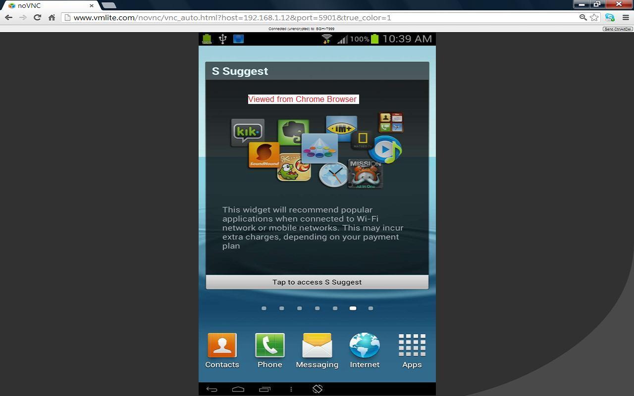 VMLite VNC Server- screenshot