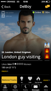 Atraf - Local gay app - screenshot thumbnail