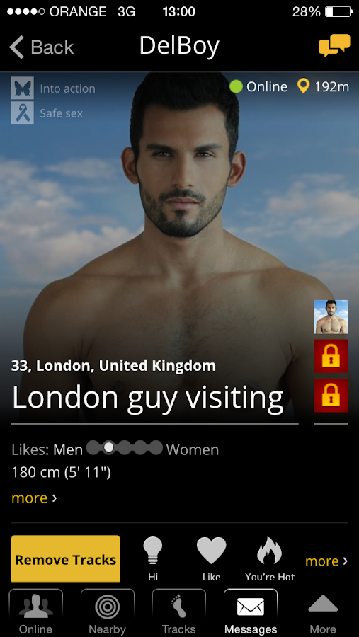 Atraf - Local gay app - screenshot