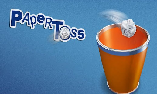 Paper Toss with Mobage - screenshot thumbnail