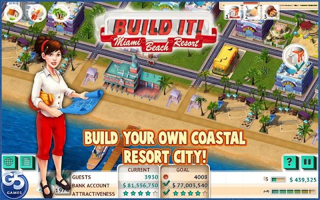 Build It! Miami Beach (Full) - screenshot