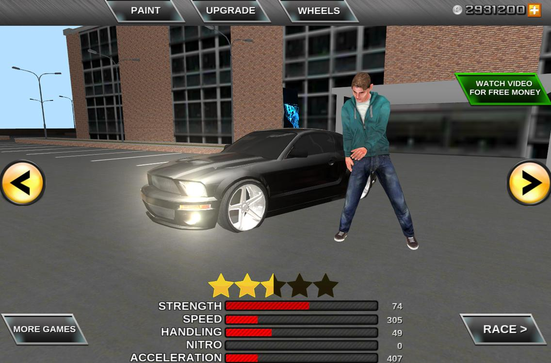Super car city driving sim free games free online - Crime Race Car Drivers 3d Screenshot