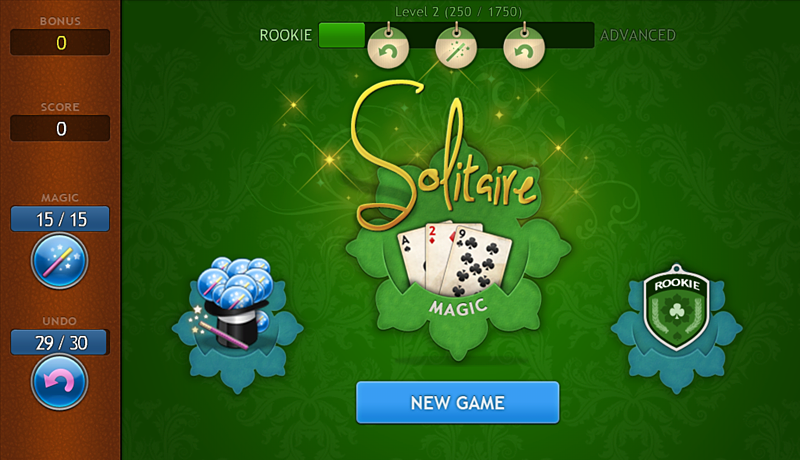 Solitaire Magic - screenshot