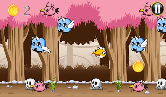 Flappy Bird Jungle Run Game screenshot
