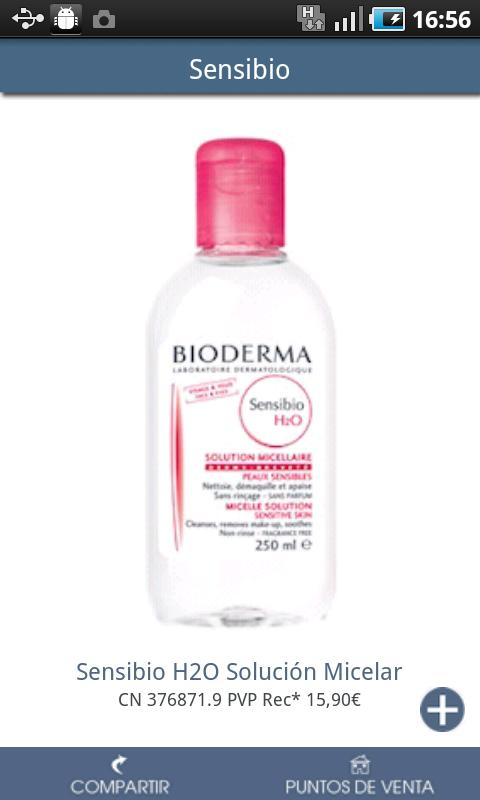 Bioderma - screenshot