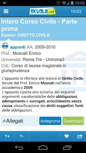玩免費教育APP|下載Skuola.net Appunti app不用錢|硬是要APP
