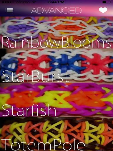 【免費娛樂App】Rainbow Loom Designs-APP點子