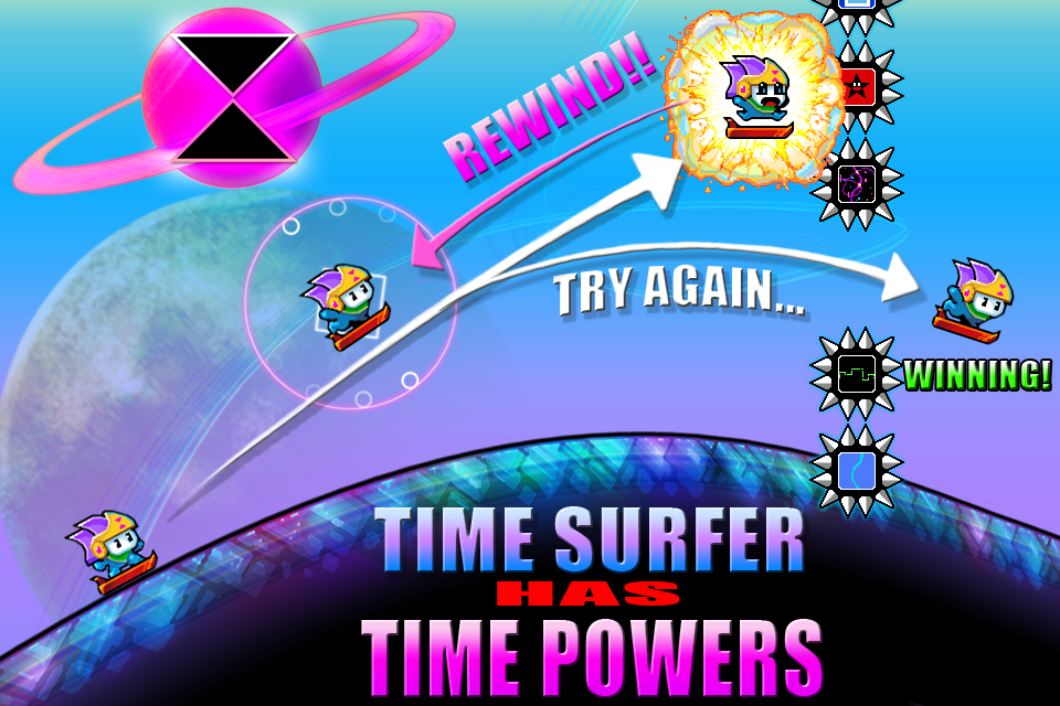 Time Surfer - screenshot