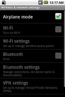 2 Plane Mode Tweaker App screenshot
