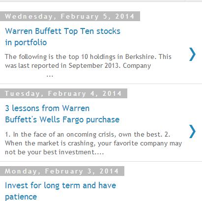 Warren Buffett News and Quotes