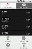Screenshot of GBlocker