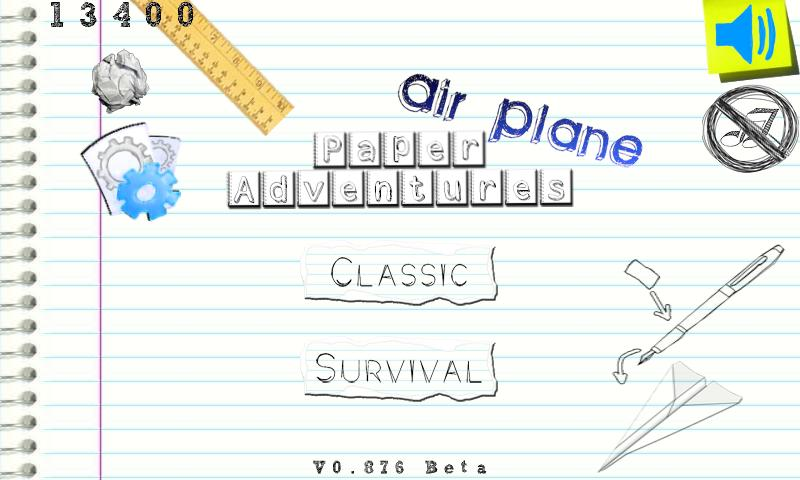 Paper Adventures: Plane - screenshot