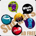 Stickers & Smileys - Ad Free icon