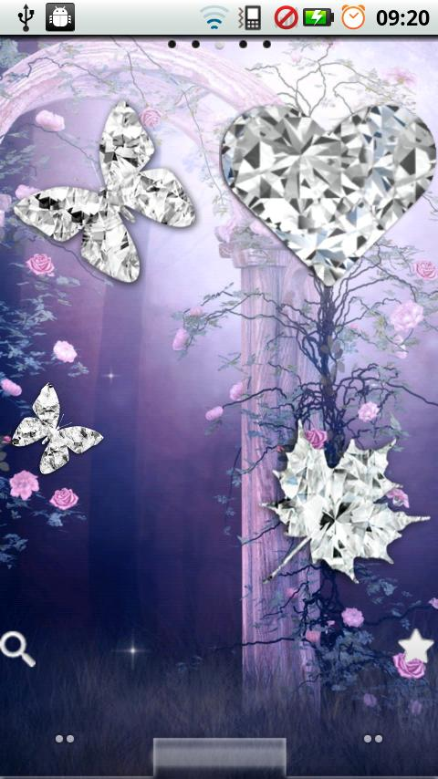 Diamond Stickers Widget  Pack- screenshot