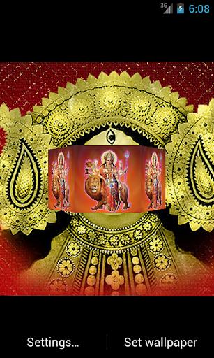 Maa Durga 3D Live Wallpaper