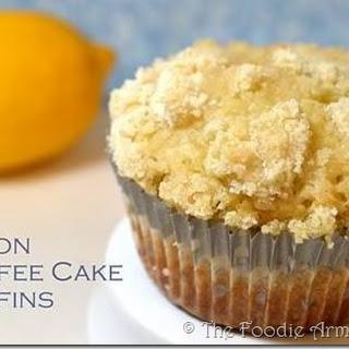 Lemon Coffee Cake Muffins