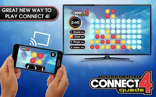 CONNECT 4 Quads for Chromecast