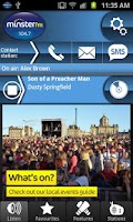 Screenshot of 104.7 Minster FM