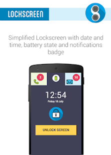Phonotto Simple Phone Launcher- screenshot thumbnail